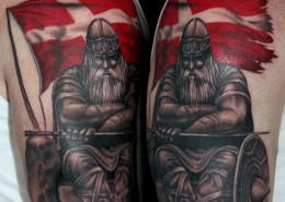 danske vikinge tatoveringer