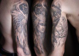 indianer tatoveringer